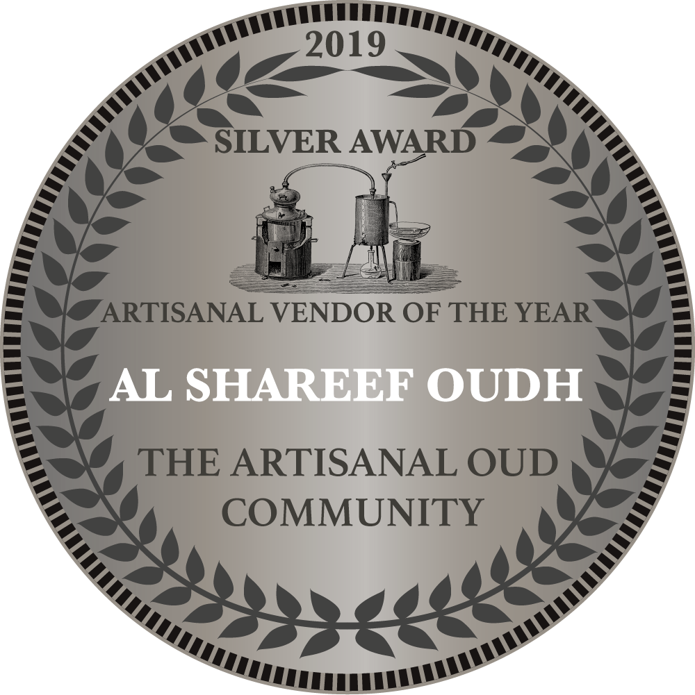 Silver Award Vendor of the Year 2019 Al Shareef Oudh.png